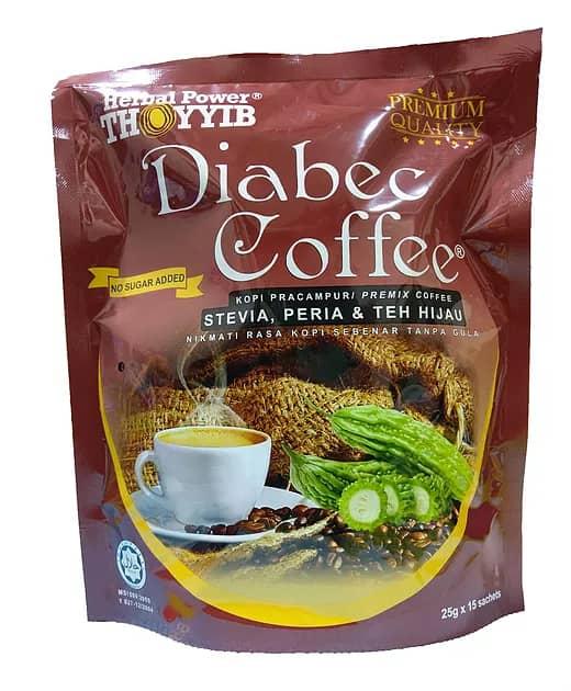 kopi tanpa gula, kopi diabetis